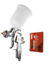 Pistolet à peinture manuel gravité AZ3 HTE2 buse 1.5mm +Jeu nettoyage Iwata