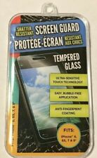 *BRAND NEW* Shatter Resistant Tempered Glass Screen Guard For iPhone 6, 6s, 7, 8