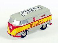 """Schuco Piccolo VW T1 Kasten """"Sinalco 2000 km durch Deutschland"""" # 50132023"""