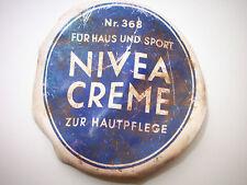 AUTHENTIC GERMAN BATLEFIELD RELIC NIVEA CREAM PART BOX-WW2