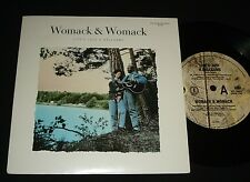 WOMACK & WOMACK P/S 45 - LIFE'S JUST A BALLGAME - MINT - 1980s SMOOTH SOUL