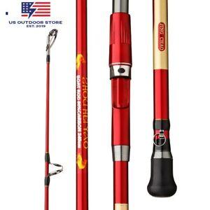 Fishing Rod Carbon Max Power 30kg Slow Jigging Fishing Rod Spinning Saltwater US