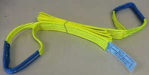 4x4 HI VIS Towing Recovery Strap 5Ton,1m - 30m - Off Road Tree Strop WARN