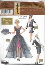 """Simplicity Doll Collector's Club Pattern 9664 Roaring 20s For 11 1/2"""""""
