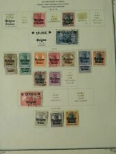 2007 Belgium Cut Square Collection Mounted Mint/Used