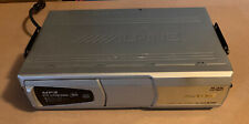 Alpine Stereo Audio CHA-S634 MP3 6 CD Compact Disc Changer Unit-UNTESTED