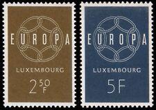 Luxembourg 1959 Mi 609-10 ** Europa Cept