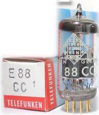 Telefunken E88CC=6922~CCa E188CC,ECC88,7308,6n11,CV2492,<>,1960s!TUBE,VALVE