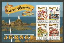 Jersey 1990 Festival of Tourism ss-Attractive Topical (539a) Mnh