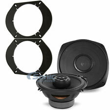 "Polk Audio DXI521 90W RMS 2-Way Coaxial Car Stereo Speakers w/ 6x8"" Adapters"