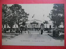 LA ROCHELLE  :  Les Bains de Mer du Mail  -  La Façade du Casino.