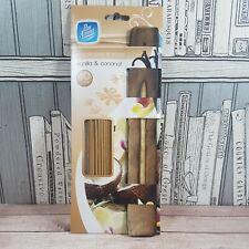 Pack of 40 Pan Aroma Vanilla & Coconut Incense Sticks & Holder