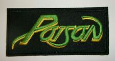 """Poison~Bret Michaels~Embroidered Patch~3 1/2"""" x 1 3/4""""~Iron or Sew On~Quality"""