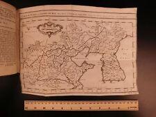 1749 Voyages Korea ATLAS MAPS Asia China Tartary Tibet Illustrated Prevost