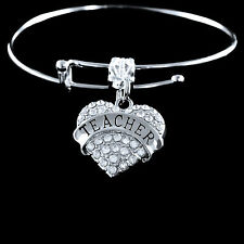 Teacher bracelet  Best Teacher gift  Best Teacher Jewelry  Teacher Charm