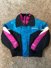 Vintage 90's Polaris INDY Snowmobile Racing Jacket Womens Large MADE IN USA