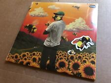 NEW SUPER RARE Tyler, The Creator - Flower Boy YELLOW Vinyl 2xLP w/ stickers