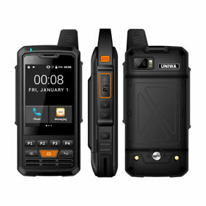 F50 IP65 Waterproof 4G GPS Android 6.0 SmartPhone Walkie Talkie PTT Zello 1GB+8G