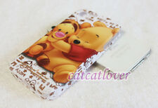 Cute Matte Winnie the Pooh with Tigger soft rubber case cover skin iphone 4/4s