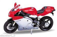 MV Agusta F4S rojo(plata, Welly Motocicleta Modelo 1:18, Nuevo, EMB.ORIG