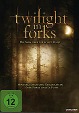 $ DVD * TWILIGHT IN FORKS - DIE SAGA ÜBER DIE ECHTE STADT # NEU OVP