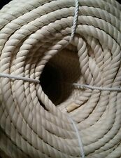 """3/4"""" x 50' 100% Cotton Rope Great for Bird Toys"""