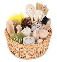 Treasure Basket - Montessori Sensory Wooden Toy