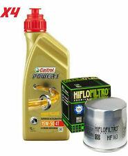 Tagliando BMW R/1100/gs 1993/1999 Kit 4 litri Castrol Power1 15w50 Filtro Olio