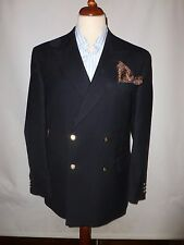 BROOK TAVERNER  DARK  NAVY  PURE WOOL  BLAZER   SIZE 40R