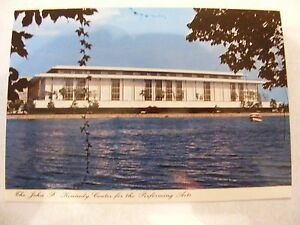 VINTAGE POSTCARD OF THE JOHN F. KENNEDY PERFORMING ARTS CENTER
