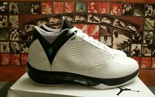 Air Jordan 2009 WHITE METTALLIC SILVER BLK 343084-161 Men's Sz 12