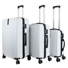 3 PC Luggage Suitcase Hard Case Lightweight Spinner Wheels Travel Carry On Bag