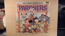 Disneyland Record Walt Disney Productions' PARDNERS LP 1980