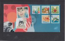Gibraltar 2007 You Stamps pair First Day Cover FDC Gibraltar special pk