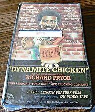 """Dynamite Chicken"" (VHS Big Box) Richard Pryor John Lennon Yoko Ono 1972 Comedy"