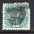US Stamp 1869, 12c, Scott #117, Used, Bad corner