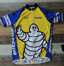 vintage MICHELIN MAN Cycling Jersey racing shirt mens size Large by Ventou AUST