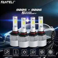9005+9006 6000K 3610W 541500LM Combo CREE LED Headlight Sets High Low Lamp Bulbs