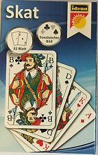 SKAT-Karten französisches Bild Turnierkarten Iden Spiel 32 Blatt 59x91 NEU OVP