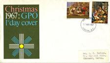 Seasonal, Christmas Pre-Decimal Great Britain First Day Covers