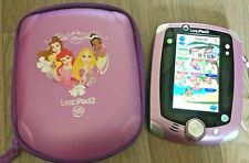 Leapfrog Leappad 2 with 6 games Disney frozen Team umizoomi repunzel  vgc