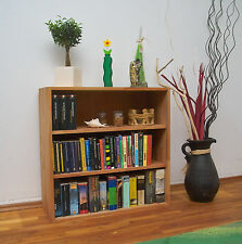 Großes Bücherregal Sideboard Kommode Regalwürfel, Massivholz Buche, erweiterbar