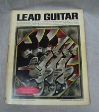 Vtg LEAD GUITAR w/ Record ~ Harvey Vinson ~ Vol 58 ~ 1972 Consolidated Music PB