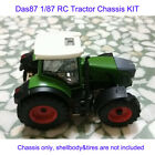 DasMikro Das87 DS87E08 HO Scale 1/87 Tractor Chassis KIT Bodyshell & Tires Not