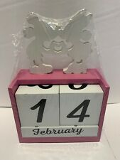 Disney Mickey & Minnie Mouse Wooden Block Set Dat Month  Adorable