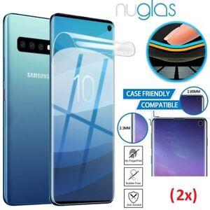 2x Galaxy Note S21 20 10e S9 8 Plus Ultra e NUGLAS Full Screen Protector Samsung