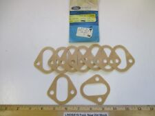 """9 PCS 1965/1974 FALCON, MUSTANG, BRONCO, ALL 6 CYL, """"GASKET"""" FUEL PUMP MOUNTING"""