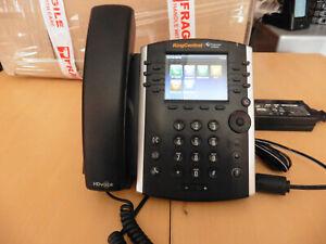 Polycom VVX 411 VoIP Business Media Phone-PoE avec alim