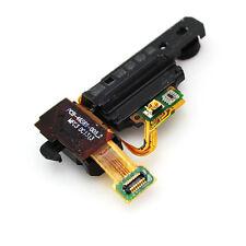 Audio Headphone Jack Loud Speaker Buzzer Power Button Flex For Blackberry Z10
