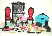 Monster High Furniture Couch Chairs Bar Huge Mixed Lot Accessories